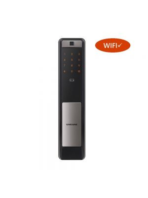 SAMSUNG SHP DP609 WiFi IoT Smart Door Lock (Silver)